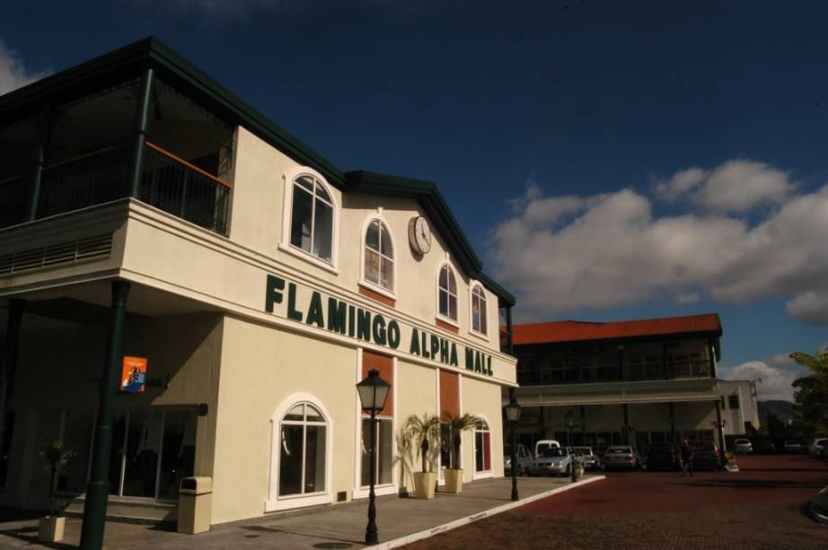 Flamingo Alpha Hall, shopping em Santana de Parnaíba