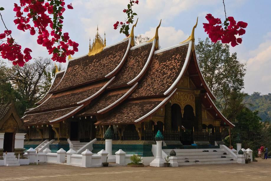 String Templo Budista Wat Xieng