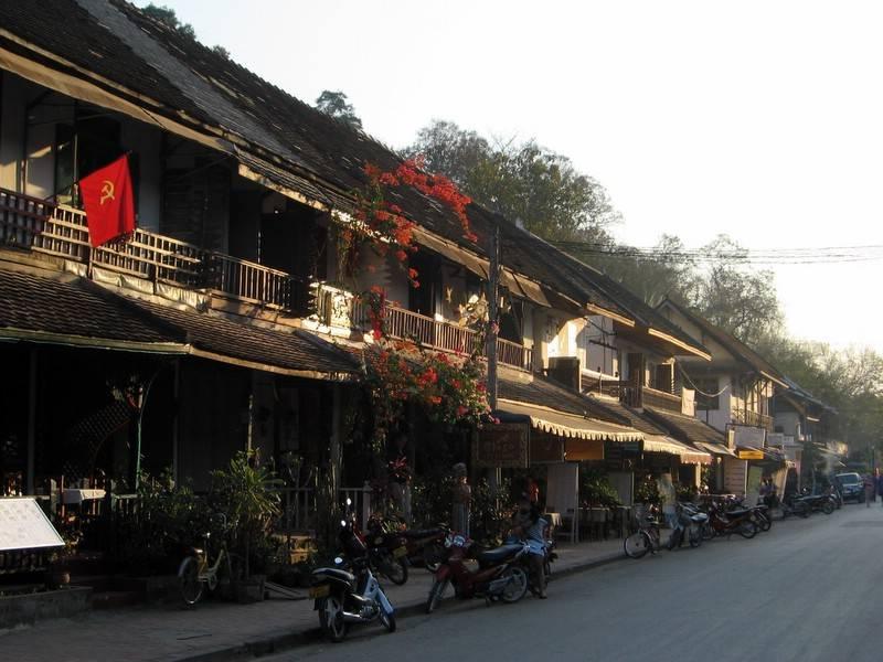 Casas de férias típicas em Luang Prabang