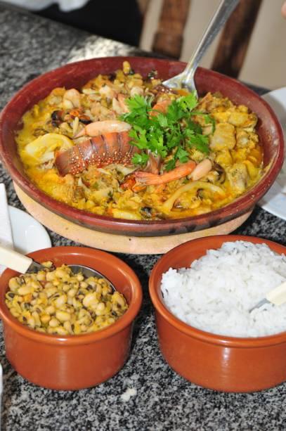 Os pratos de peixe são os mais procurados em Itaparica
