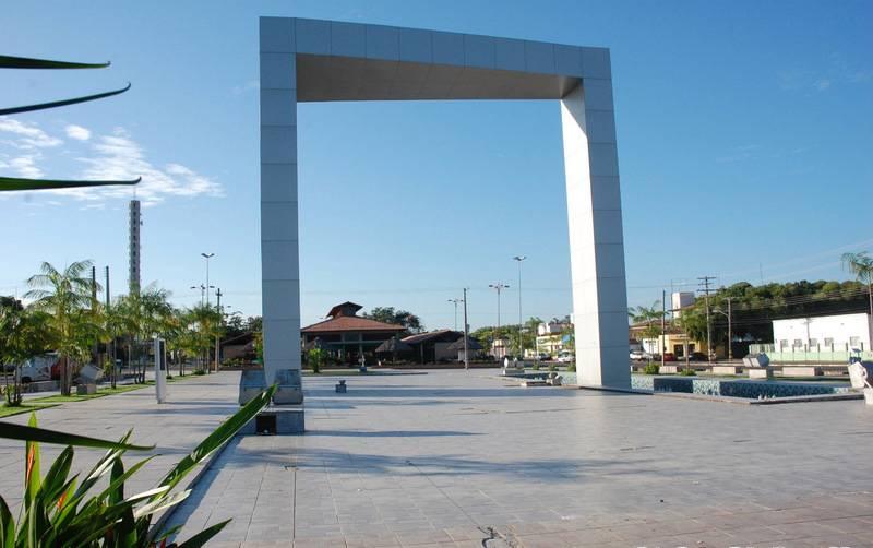 Portal Millennium na Praça das Águas, Boa Vista, Roraima