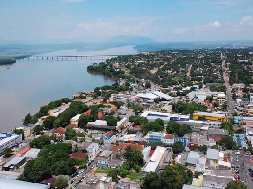 Vista aérea da Boa Vista em Roraima