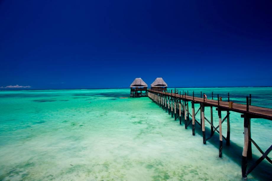 O pequeno arquipélago de Zanzibar oferece praias e acomodações com as cores deslumbrantes do Oceano Índico