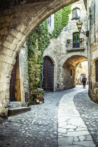 O centro histórico de Girona merece atenção