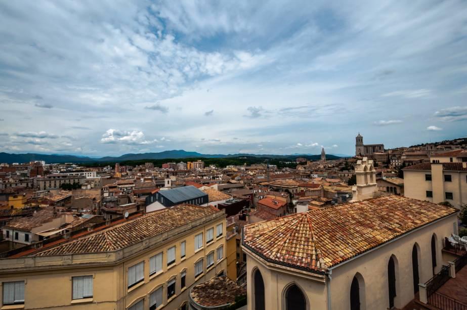 Vista panorâmica de Girona