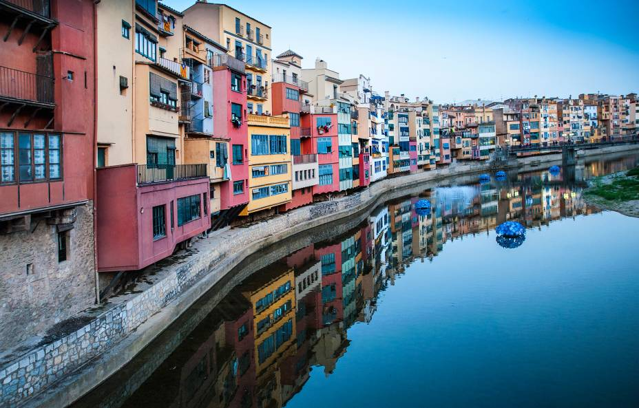 Alguns até comparam Girona a Florença