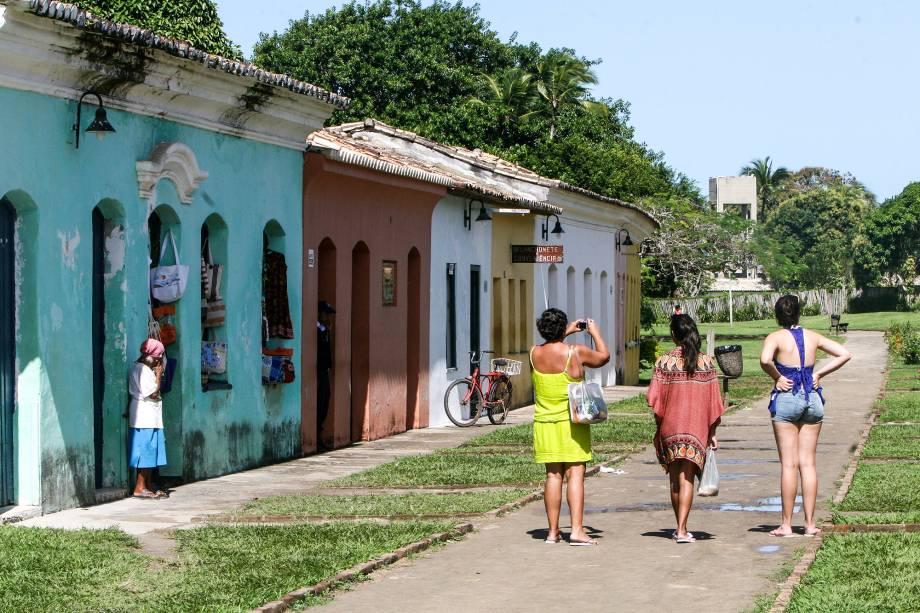 Centro de Porto Seguro foi o primeiro centro residencial do Brasil