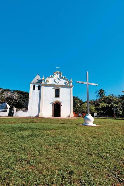 Igreja de Nossa Senhora da Pena, padroeira da cidade, no centro histórico da Cidade Alta