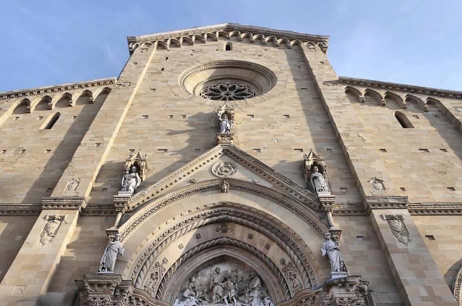 A construção da Catedral de Arezzo (foto) começou no século 13 e só foi concluída no século 15