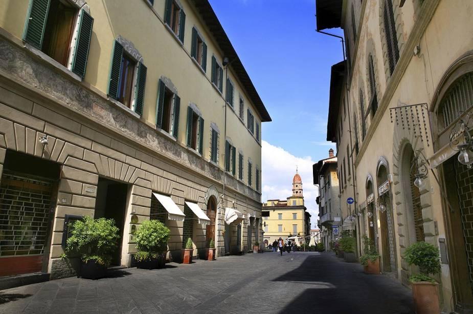 O programa preferido dos Arentini (nome dos nascidos em Arezzo) é passear e fazer compras na encantadora Corso Italia, uma das principais ruas da pequena cidade.