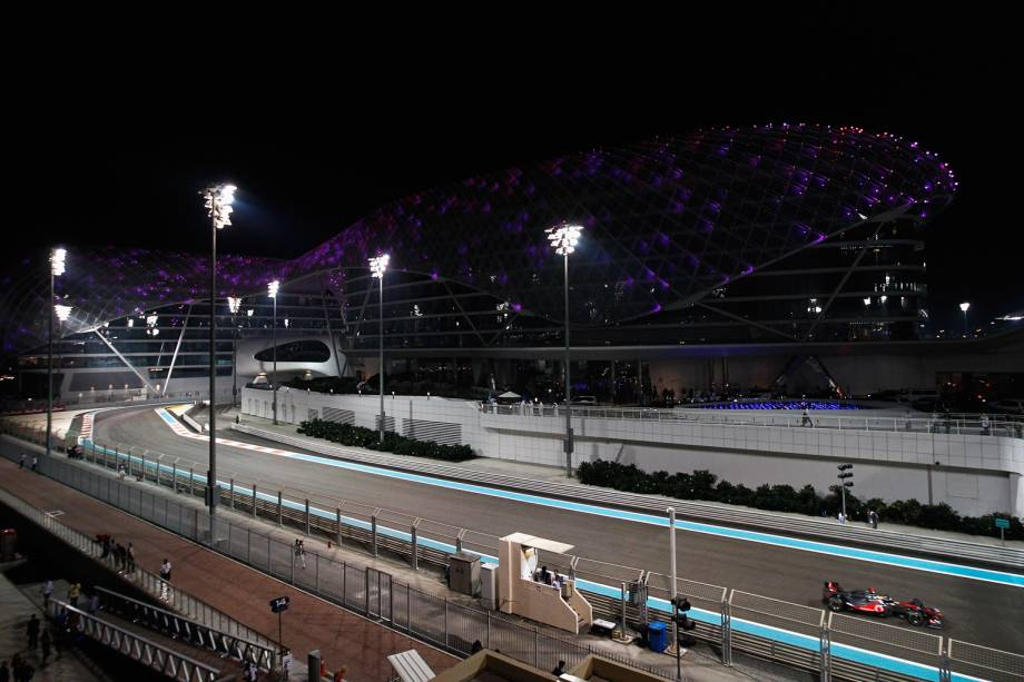 Circuito Yas Marina, casa do GP de Fórmula 1 de Abu Dhabi