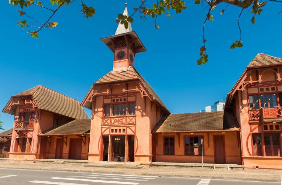 Estação da Memória, a antiga estação de Joinville