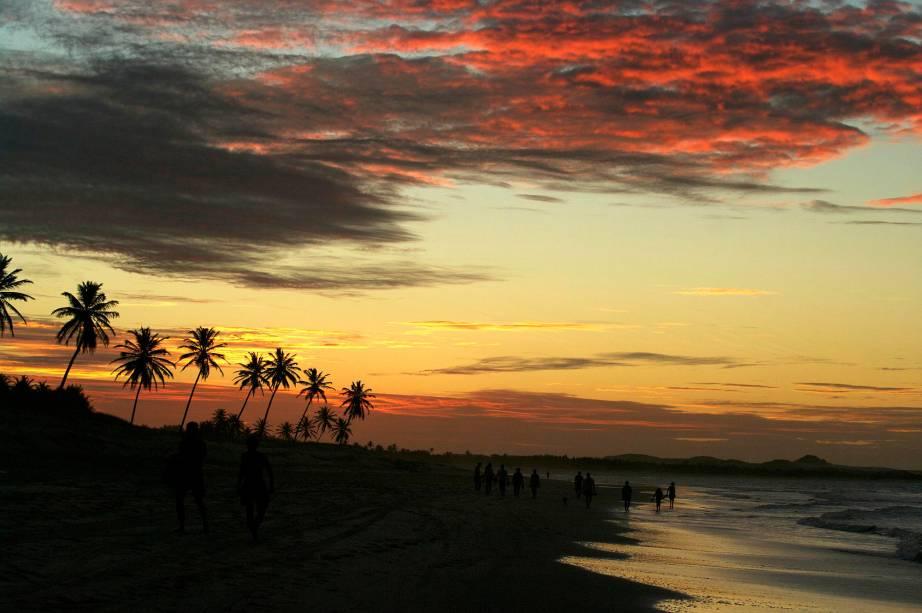 Cumbuco faz parte da rota do pôr do sol cearense