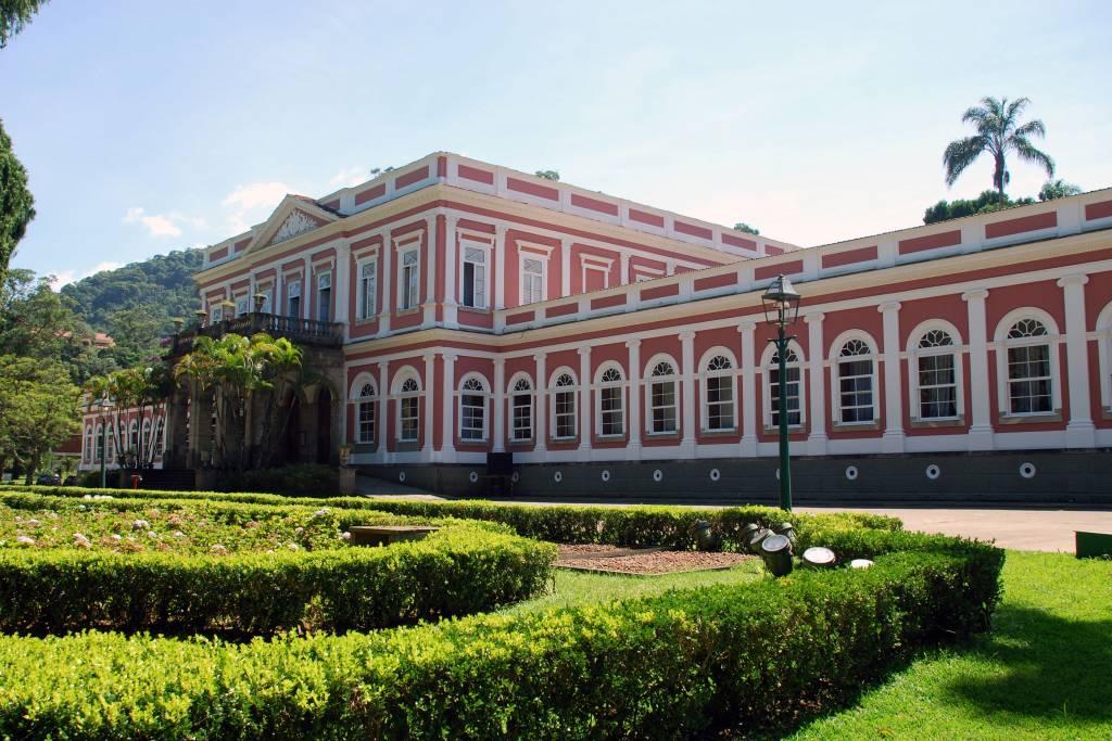 Museu Imperial e seu jardim, Petrópolis (RJ)