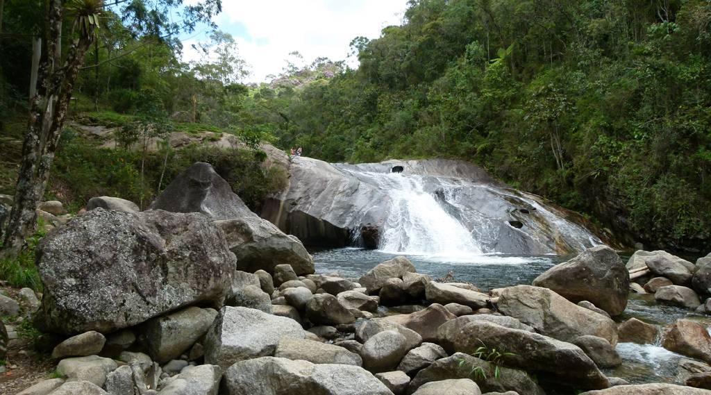 Cachoeira do Escorrega em Visconde de Mauá, Rio de Janeiro