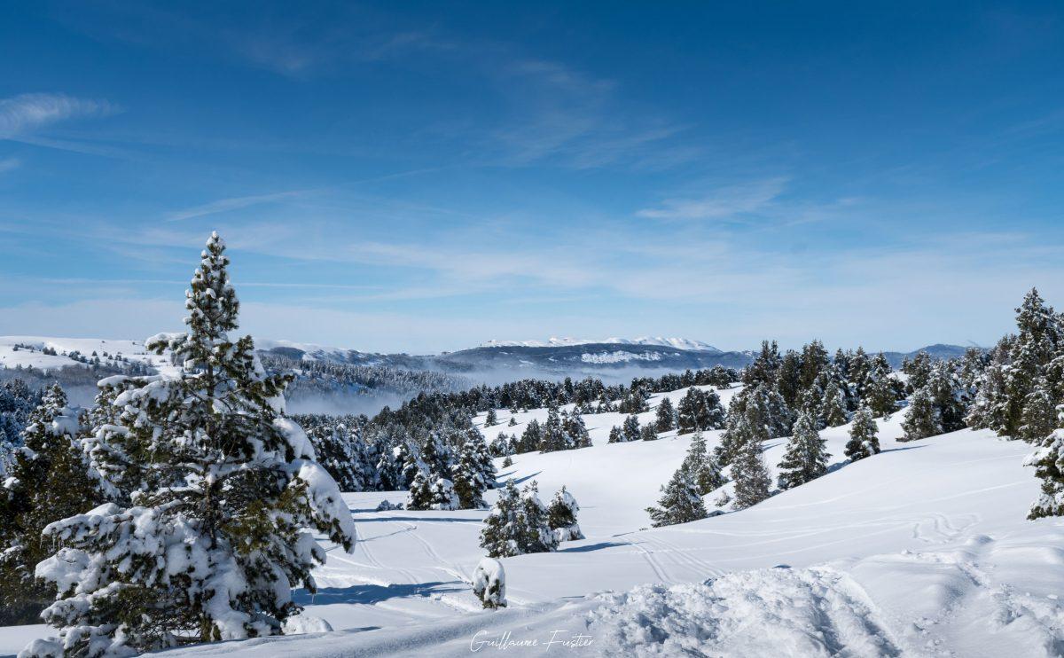Hauts-Plateaux du Vercors, inverno, neve, montanha, paisagem, Isere, Alpes, França, ao ar livre, Alpes franceses, inverno, neve, montanha, paisagem