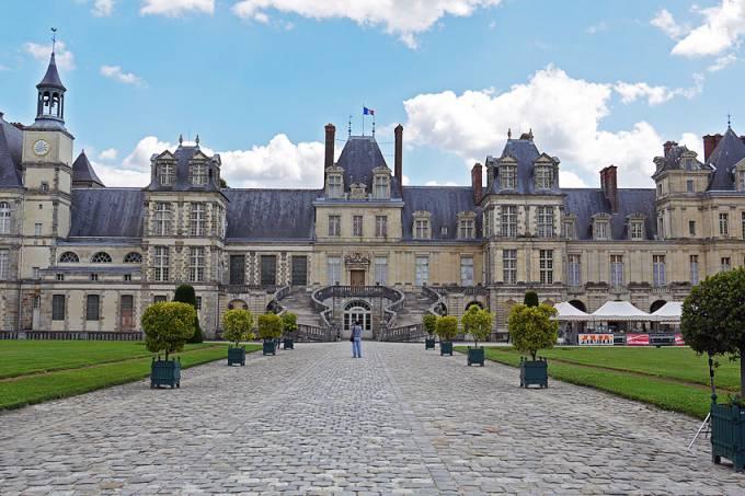 Palácio de Fontainebleau, França