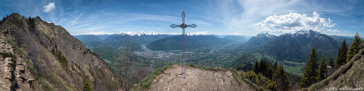 La Croix de Perillet - Caminhada nos Alpes Savoy de La Belle Étoile Bauges - Paisagem Caminhada na montanha Caminhada ao ar livre Paisagem montanhosa
