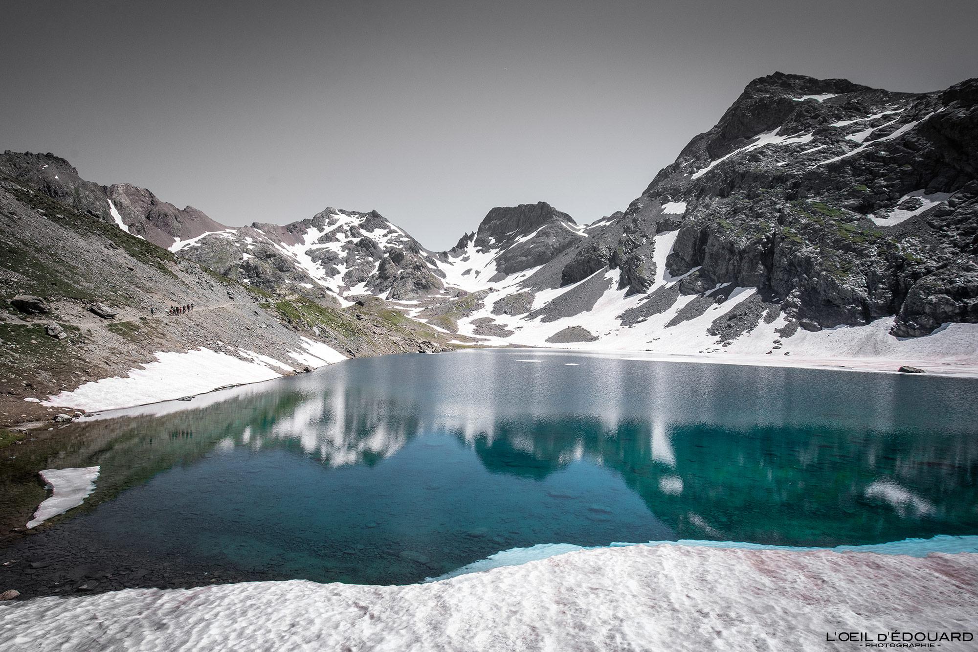 Belledonne Lacs Domenon 13 Lac Grand Domenon Blog outdoor Trace les Cimes
