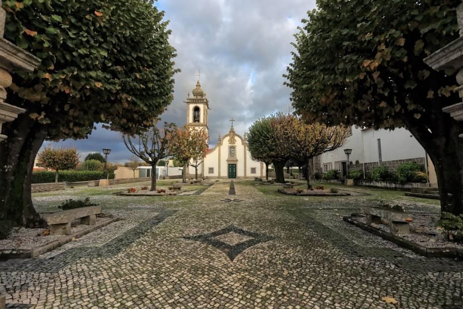 Igreja no interior de Braga