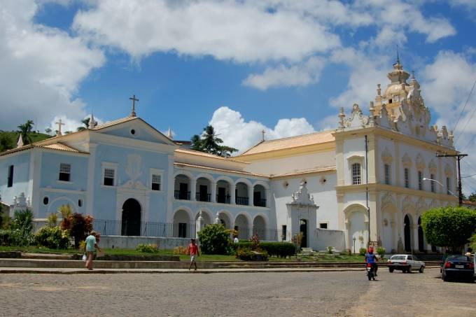 Convento do Carmo na histórica cidade de Cachoeira, Bahia, Brasil