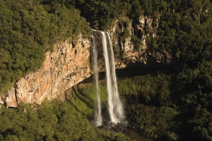 Cascata do Caracol, Parque do Caracol em Canela, Rio Grande do Sul