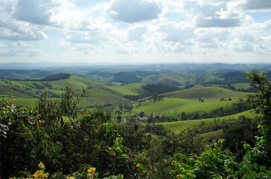 Serra da Bocaina oferece belas paisagens em todo o interior de Cunha