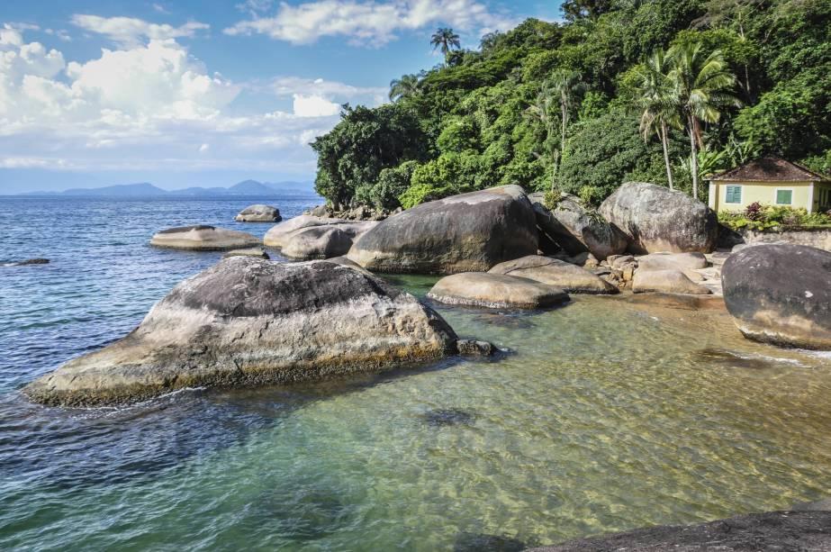 A água limpa é uma parte importante da paisagem da ilha