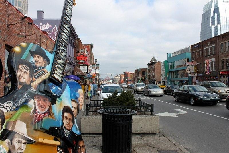 Coisas para fazer em Nashville - Broadway