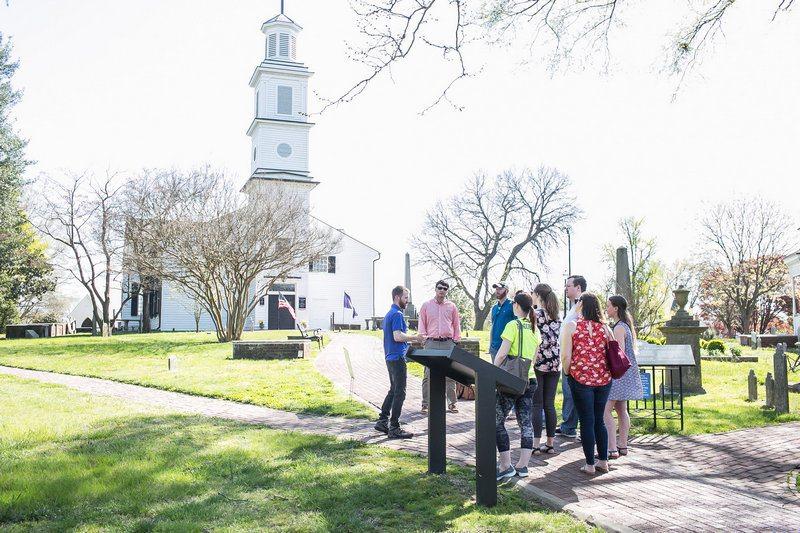 Itinerário de 3 dias em Richmond - excursão pela igreja
