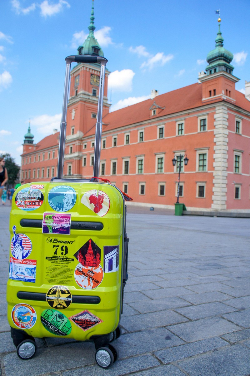 Bem vindo a Polónia!  - Malas em um lugar na Polônia