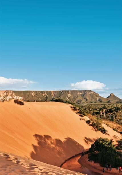 A duna no centro do Cerrado, a bela e inusitada atração do Jalapão, a pouco mais de 200 km de Palmas, no Tocantins