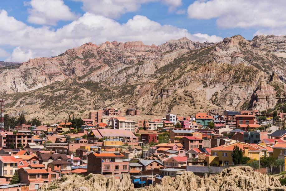 La Paz está localizada a mais de 3600 metros acima do nível do mar