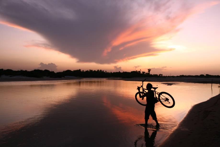 Lagoa do Parque Nacional dos Lençóis Maranhenses