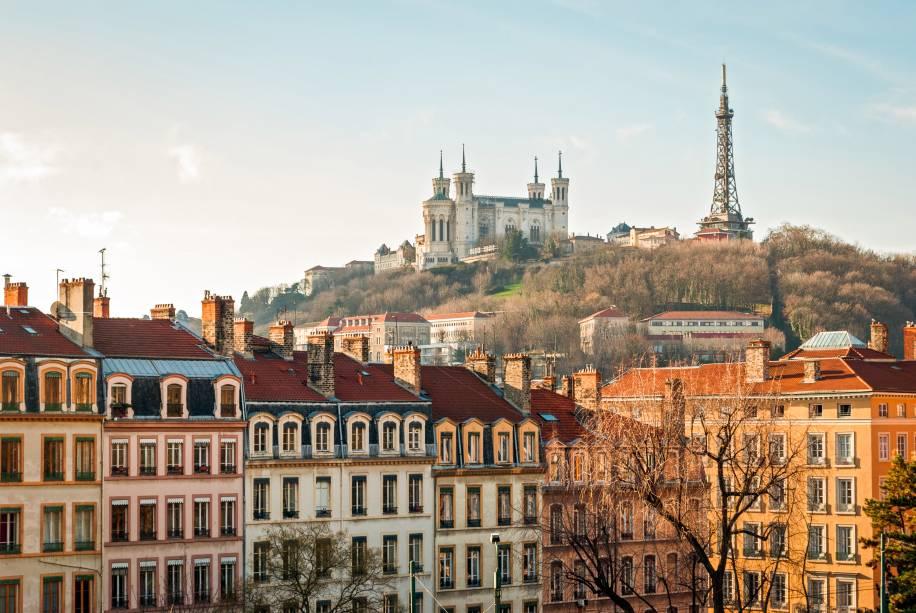 Lyon tem um pitoresco centro histórico classificado como Patrimônio Mundial