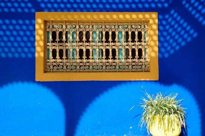 Jardins Majorelle, Marrakech, Marrocos