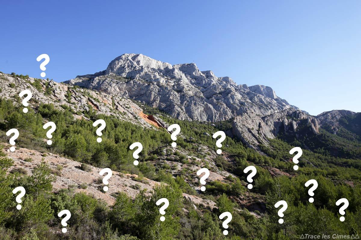Montagne Sainte Victoire randonnee 4 depart blog trace ta route