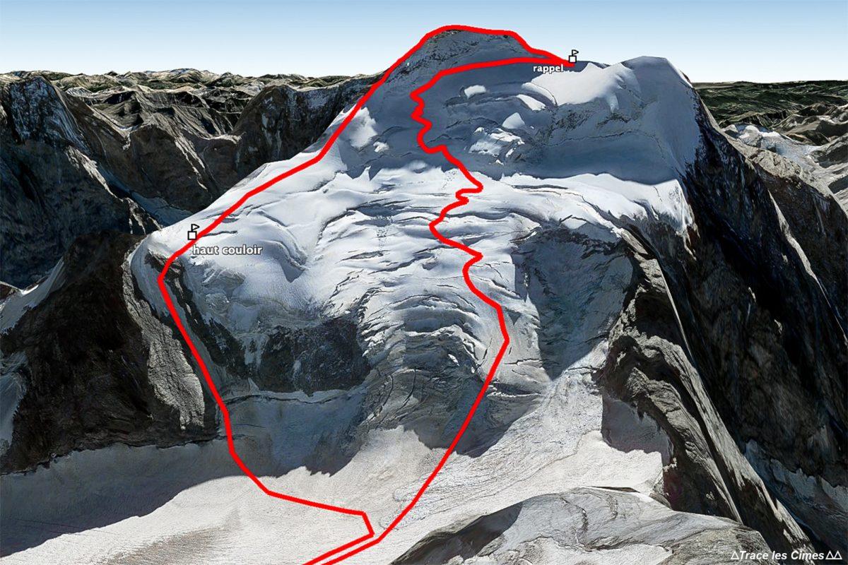 Topo Montanhismo Petit Traversée Barre des Ecrins Hautes-Alpes França Montanha França Outdoor Alpes franceses Montanhismo