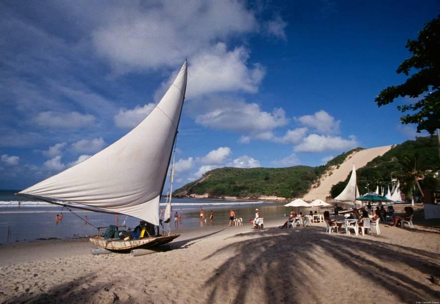 Ponta Negra é a praia mais famosa e melhor da zona urbana de Natal