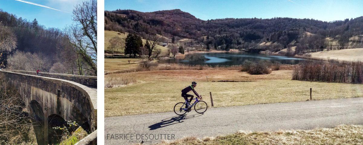 Ciclismo Col de Marocaz de bicicleta - Lac de la Thuile Maciço des Bauges Road ciclismo Paisagem montanhosa ao ar livre