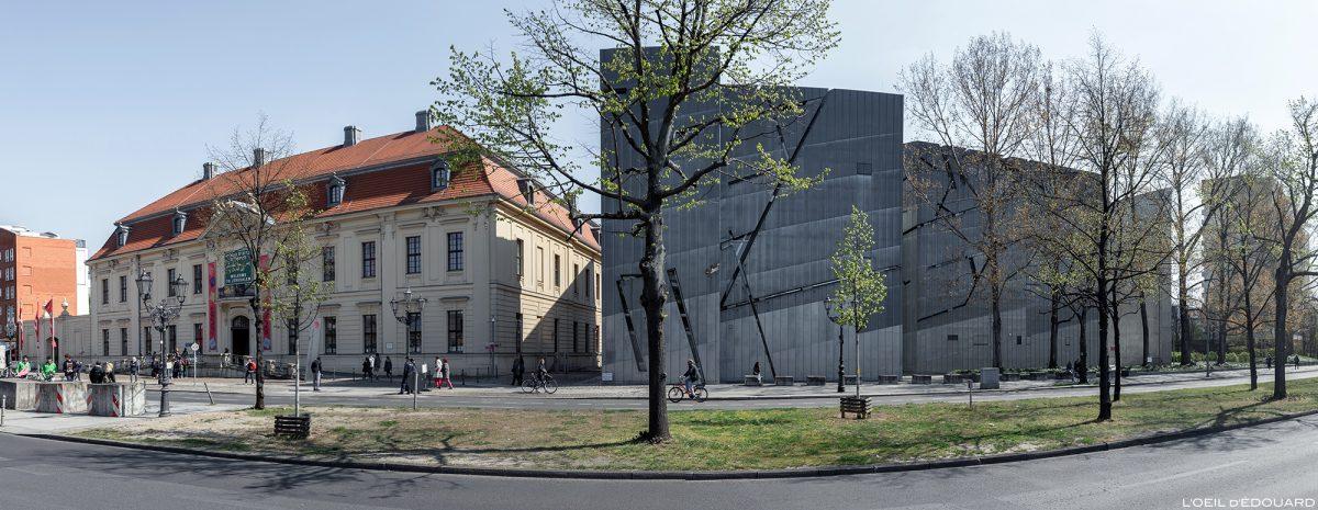 Rua do Museu Judaico de Berlim Alemanha - Museu Judaico, Lindenstrasse, Alemanha Alemanha - Arquitetura Daniel Libeskind