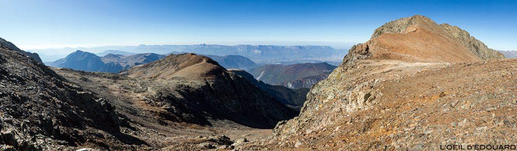 O Col du Grand Van, o Petit Taillefer, o Brouffier Ridge e o Vercors