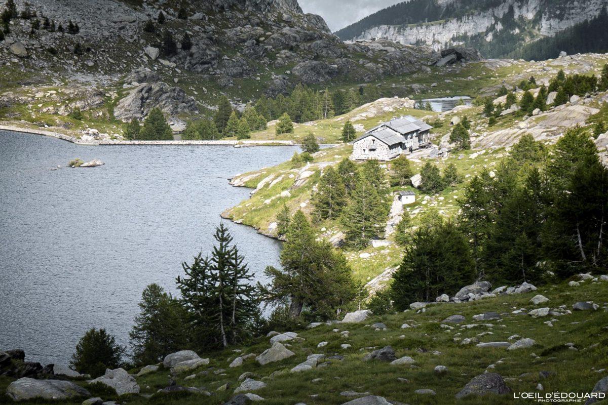 Refuge des Merveilles - Maciço de Mercantour Alpes-Maritimes Provença-Alpes-Côte d'Azur / Paisagem Caminhada na montanha Paisagem ao ar livre Lago de montanha Caminhada Caminhada Caminhada Trekking