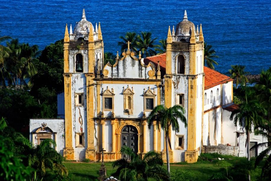 A Igreja do Carmo está localizada no centro histórico de Olinda, Patrimônio Mundial da UNESCO desde 1982