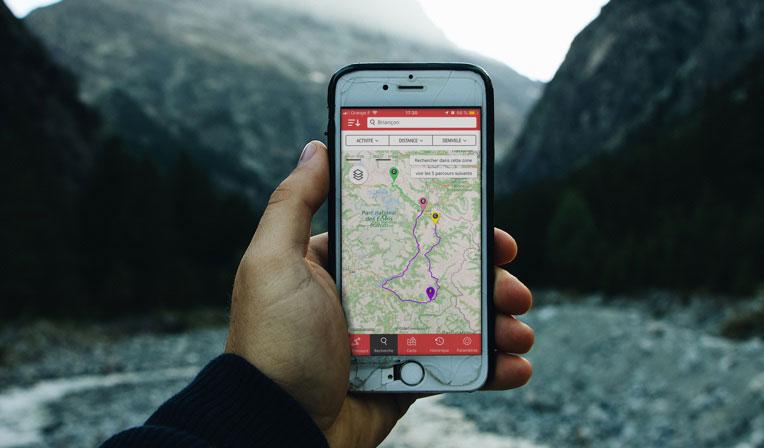 Openrunner application montagne 1