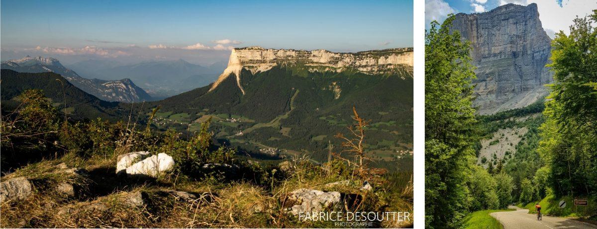 Mont Granier Maciço de la Chartreuse Alpes Savoy França - paisagem montanhosa Alpes franceses Paisagem montanhosa ao ar livre