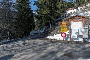 Estacionamento no centro de esqui cross-country Les Pars - Beaufortain Massif, Savoy