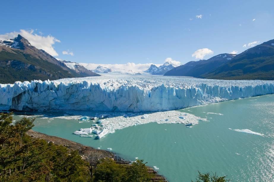 Glaciar Perito Moreno, em Calafate, Patagônia