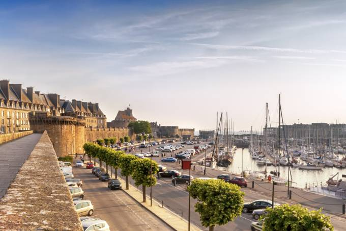 Frente marítima de Saint Malo - França