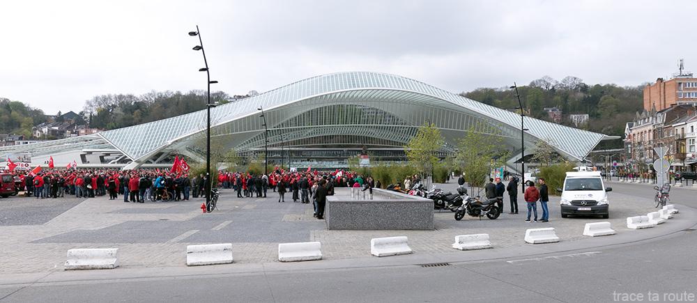 Estação Liège-Guillemins - Santiago Calatrava - Place des Guillemins, Liège
